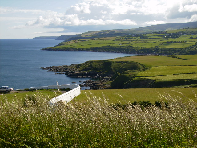 Looking towards Port Mooar Bay from Maughold Head