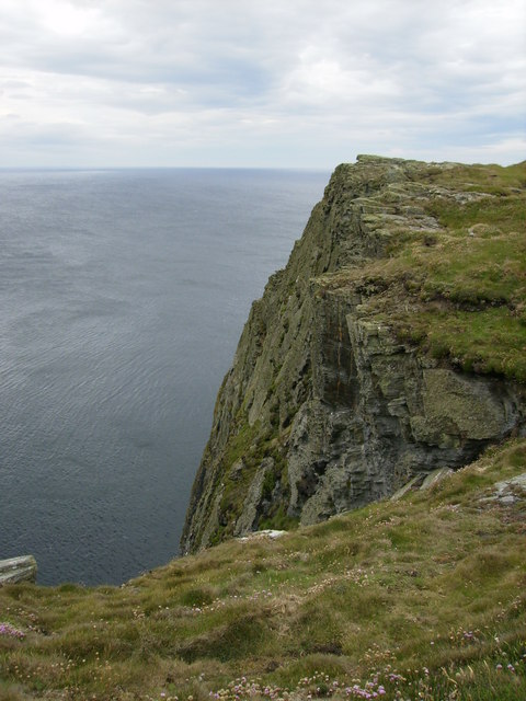 Top of Spanish Head - seen from the coastal path