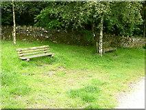 SD7217 : Memorial Benches, Turton and Entwistle Reservoir by liz dawson