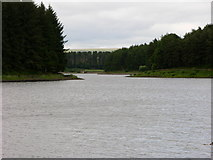 SD7217 : View down to east end of Turton and Entwistle Reservoir by liz dawson