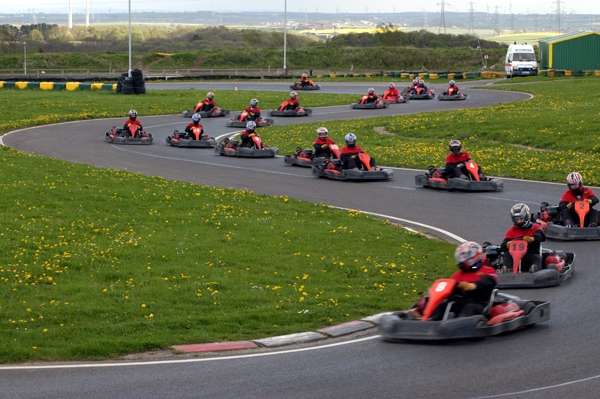 Kart Racing at Karting North East