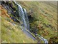NH0014 : Waterfall en route to Bealach na Spainteach by Nigel Brown