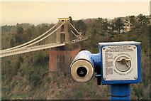 ST5673 : Is that the Clifton suspension bridge? by Steve  Fareham