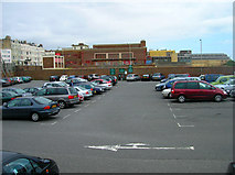 TQ2804 : Car Park, King Alfred Leisure Centre by Simon Carey