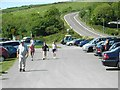 SS0197 : Car park for Freshwater East Beach by David Luther Thomas