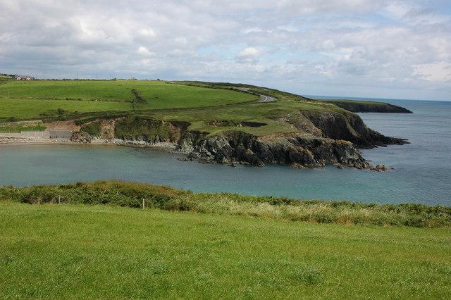 Coast to the west of Dunabrattin Head