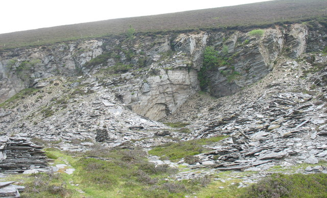 The pit of Deeside Quarry