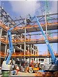 NT2276 : The new Edinburgh Telford college under construction. by Steve  Fareham