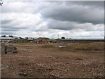 NZ2942 : Brownfield Site awaiting development in Dragon Lane by Roger Smith