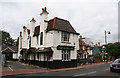 TQ2864 : The 'Fox and Hounds', Carshalton, Surrey by Dr Neil Clifton