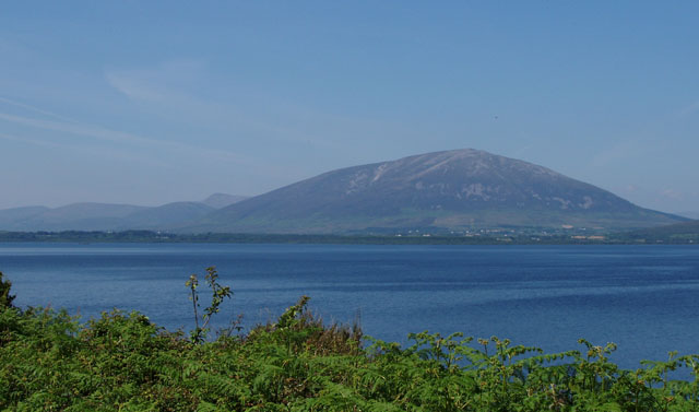 Lough Conn with Nephin in background