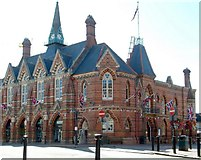 SU8168 : Original (nearly) Town Hall, Wokingham by Anthony Eden