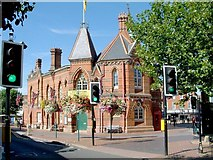 SU8168 : Former Town Hall, Wokingham by Anthony Eden