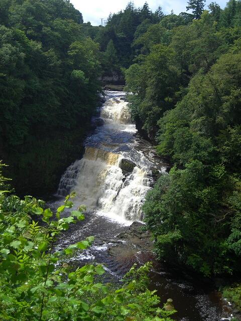 Falls of Clyde at Corra Linn