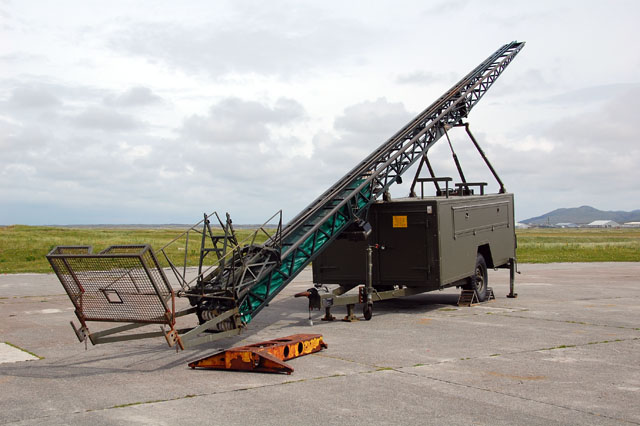 Catapult in South Uist missile range