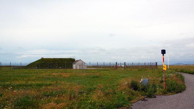 Explosives bunker at South Uist missile range