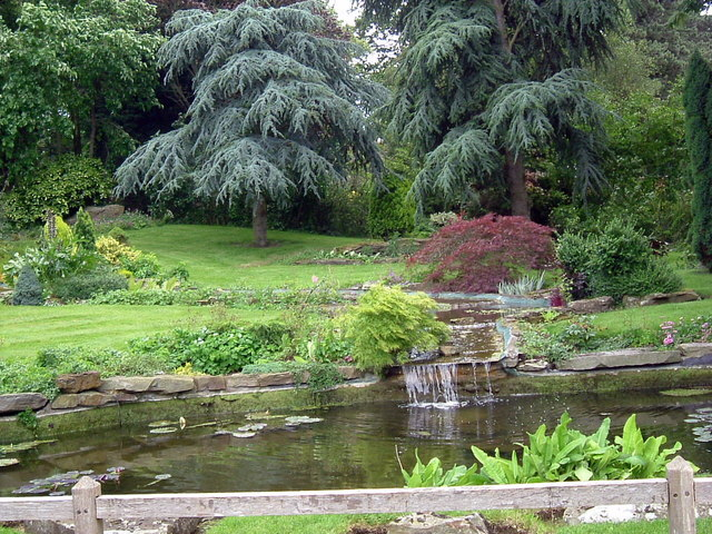 Farm garden at Keyston