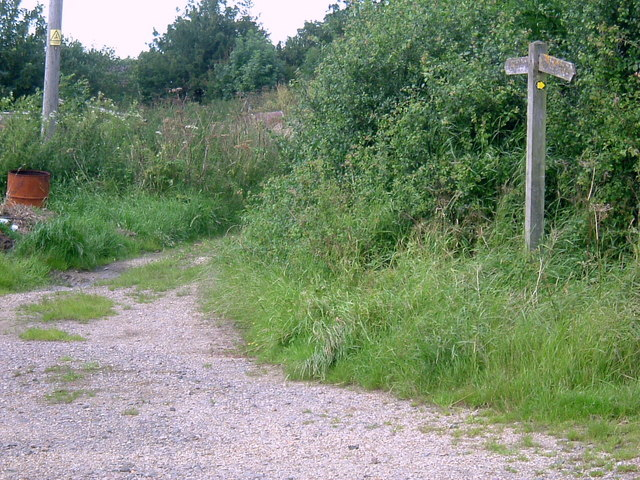Footpath at Gimbers End