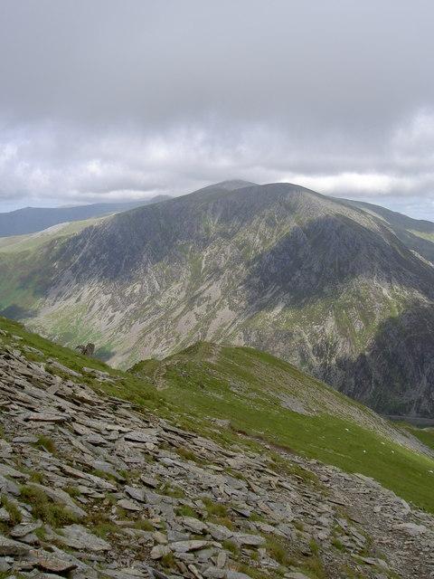 The ridge back to Pinnacle Crag