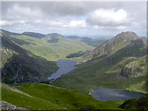 SH6359 : The view across Cwm Clyd by Ian Greig