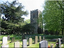 SK2441 : Brailsford Churchyard by Clive Woolliscroft