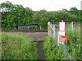 NZ3033 : Rail Crossing by Donald Brydon