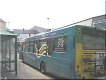 SH4862 : The last north-bound Traws-Cambria bus of the day leaves Caernarfon for Bangor by Eric Jones