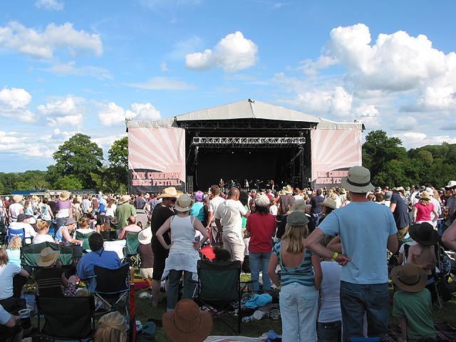 Crowds at the Cornbury Music Festival