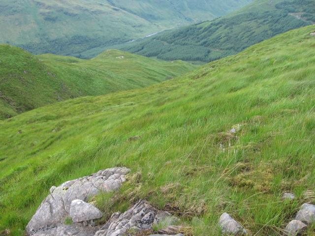 Hillside by Eas Ruadh
