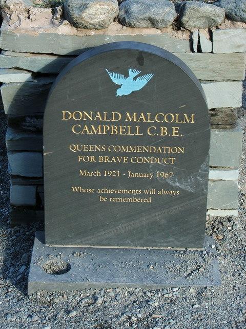 Memorial to Donald Campbell