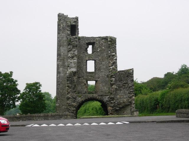 The ruins of Mellifont Castle