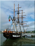 S7127 : Dunbrody famine ship by Shaun McGuire