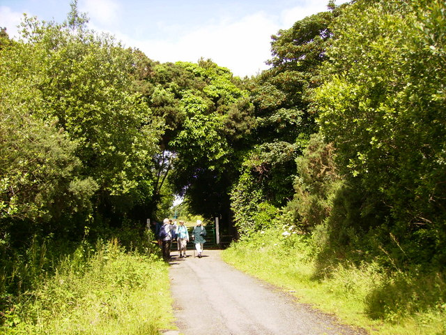 Former railway line now the IoM Heritage Trail