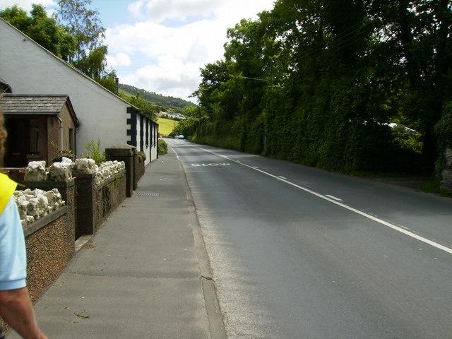 The A1 at Greeba