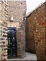 NZ4419 : The alleyway beside the Georgian Theatre by Carol Rose
