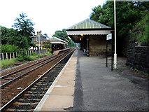 SD9926 : Hebden Bridge Railway Station by David Ward