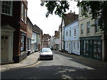 TM2749 : Church Street Woodbridge by Keith Evans