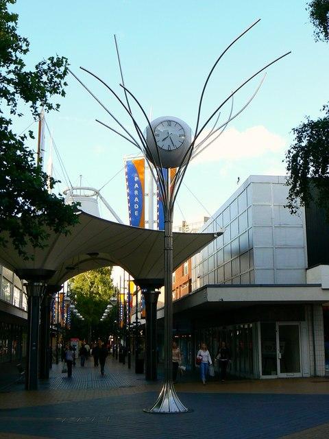 Golden Jubilee Clock, The Parade, Swindon