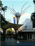 SU1484 : Golden Jubilee Clock, The Parade, Swindon by Brian Robert Marshall