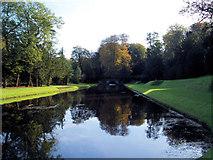 SE2768 : Water gardens in Autumn. by Steve  Fareham