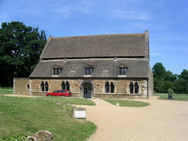 Inside the Grounds of Oakham Castle