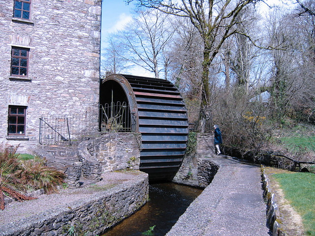 The waterwheel at Bealick mill