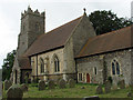 TG4205 : St Andrew's Church, Wickhampton by Evelyn Simak
