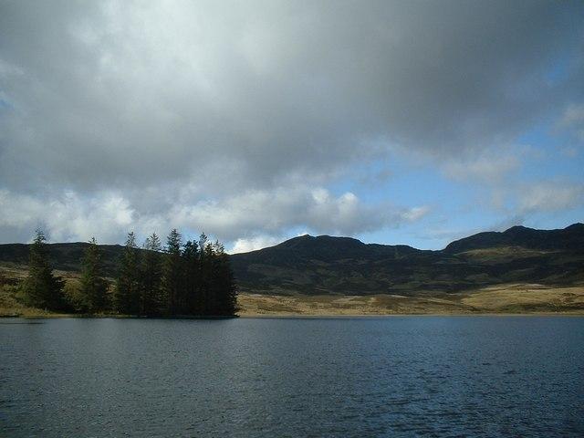 West from Loch Farleyer