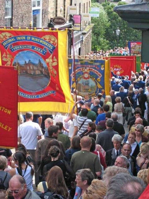 Durham Miners Gala 2007