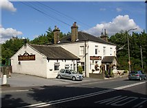 SE1226 : The Brown Horse, Denholme Gate Road, Shelf by Humphrey Bolton