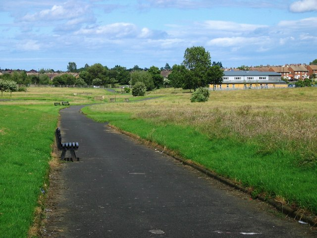 Parkland between Grindon and Thorney Close