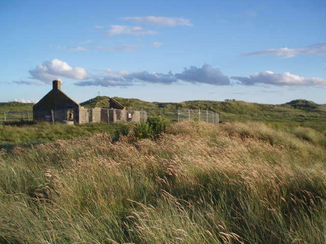 Ruined Cottage, Lower Lighthouse, Buddon Ness