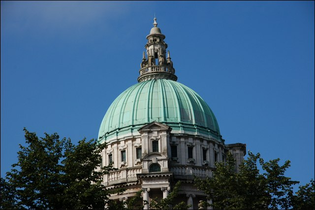 The dome of Belfast City Hall (2)