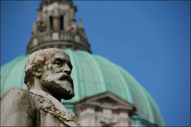 Haslett statue, Belfast